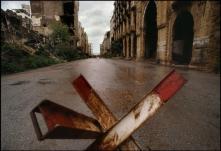LEBANON. Beirut. 1991. Maarad Street.