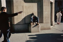 "Gus Powell, ""Monument"" from the series Lunch Pictures 1999 - 200"
