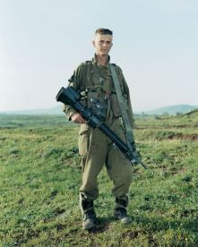 Omri,-Givatti-Brigade,-Golan-Heights,-Israel,-March-29,-2000