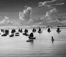 HONG KONG. 1952. Harbour of Kowloon.